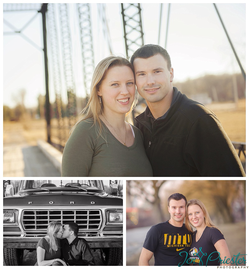 Ann Arbor Michigan Engagement and Wedding Photographer